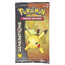 Pokemon Cards – Generations – Booster Pack (Pikachu Cover Art Artwork 10 Cards
