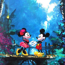 jigsaw puzzle 1000 pc Disney Fine Art Moonlight Proposal Micky Minnie Mouse Ceac