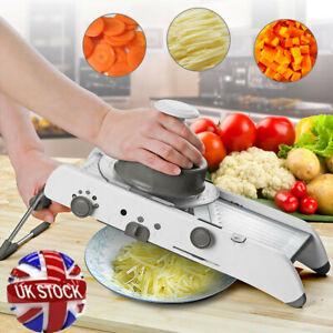 18 IN 1 Stainless Steel Mandoline Slicer Adjustable Kitchen Food Julienne New