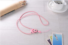 Detachable Universal Mobile Cell Phone Cords Strap Lariat Lanyard Lobster Clasp