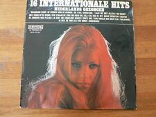 LP RECORD VINYL PIN-UP GIRL 16 INTERNATIONALE HITS  NED. GEZONGEN KRITOS B