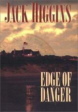 Edge of Danger by Jack Higgins (2001, Hardcover)