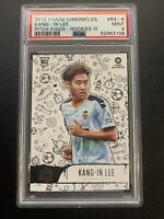 2019 Panini Chronicles Soccer Pitch Kings Kang-in Lee RC Valencia PSA 9