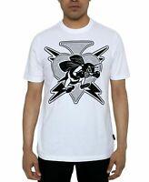 Sean John Mens T-Shirt Classic White Size 2XL Velvet Graphic Tee $39- #364