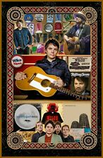 "Jeff & Wilco   Tribute poster - 11x17"" - Vivid Colors!"