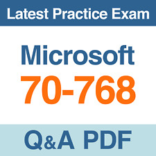 Microsoft Practice Test 70-768 Developing SQL Data Models Exam Q&A PDF