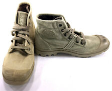 Palladium Shoes Hiking Trekking Boots Wheat/Beige Sneakers Size 8