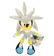 Sonic the Hedgehog Plushie Silver Sonic Plush Doll Figure Soft Toy