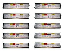 10 Ballastwise DXE2H8U-HBF Ballasts for 2 F32T8, F25T8 or F17T8 Bulbs, T8 Light