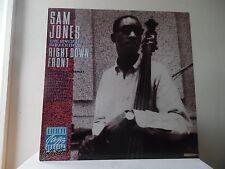 SAM JONES - RIGHT DOWN FRONT  - RIVERSIDE-OJC-6008 - STEREO - NEW -MINT*