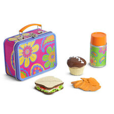 American Girl JULIE SCHOOL LUNCH BOX Set NEW in Box Doll Food Sandwich Julie's