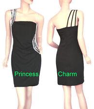 One Shoulder Party/Cocktail Short Sleeve Dresses for Women