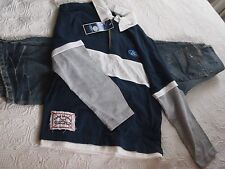 BOYS SIZE 10 BILLABONG JEANS AND FORD L/S T/SHIRT