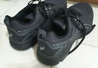 Brooks Ghost 11 Mens Running Shoes Black + Asics Gel Venture 7 - both 10.5 size