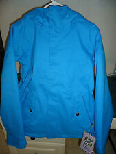 BURTON PENELOPE INSULATED JACKET WOMEN'S MEDIUM (M) BLUE-RAY SRP $190