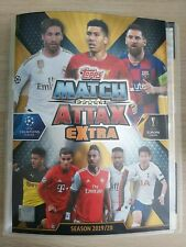 Match Attax EXTRA 2019/20 192 cards ALL DIFFERENT + binder - MINT CONDITION