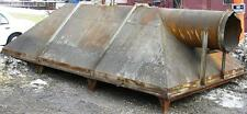 Structural Steel & Sheet Metal Fabr. Frame work with blower outlet. Item #8617