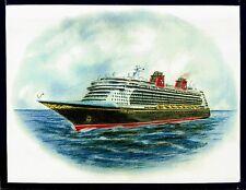 Original Art Work.. ms DISNEY DREAM...cruise ship...Disney Cruise Line