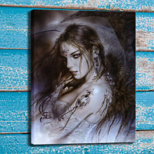 Print Luis Royo Eyes Sexy Tattooed Arm Home Wall Art Decor Painting Canvas 24x32