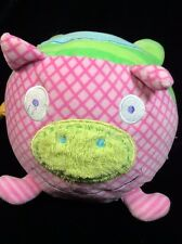Alex Jr Plush Ball Toy Cat Dog Frog Bell Soft Pig Jingle Baby