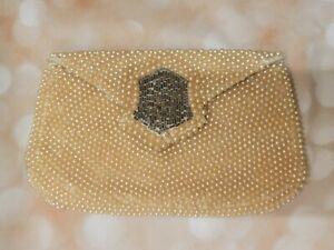 Vintage Sharonee Pearl Clutch Purse