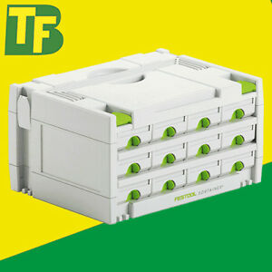 Festool Systainer 491986 SYS 3-SORT/12 (12 Drawer Sortainer)