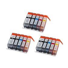 15PK w/ Chip for PGI-220 CLI-221 Canon Pixma MP640 MX860 MX870 MP560 3SETS