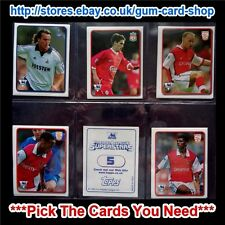 ☆ Topps Premier League Superstars 1999-2000 (1 to 63) *Please Choose Stickers*