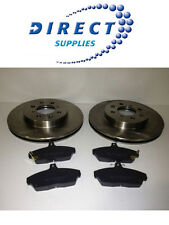 ROVER 25 45 200 400 VENTED FRONT BRAKE DISCS AND PADS *FAST DELIVERY*