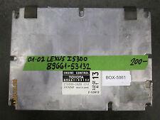 01 02 LEXUS IS300    ECU:89661-53132