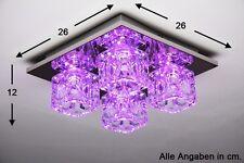 Plafonnier à LED Lampe à suspension Luminaire Lustre Changeur de couleur 49224