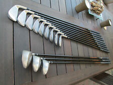 LEFT HAND,MENS,CHICAGO,944 DB,GOLF CLUBS,SET,3X DRIVERS,9X IRONS,ENDURANCE SHAFT
