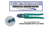 HANDSWAGER / FISHING TRACE CRIMPER - CRIMPS WIRE ROPE SWAGES
