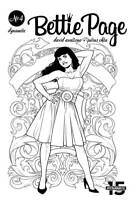 Bettie Page 4 Incentive B&W Variant Julius Ohta Pin-Up 1:40 Risque New NM