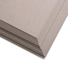 10 sheet pack x A4 Quality Craft Greyboard Mounting Backing Card 550 microns