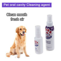 Pet Breath Freshener Spray Dog Mouthwash Care Healthy Dog Mouth CleaningCRITCRIT