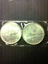 500 lire argento caravelle originali  fior di conio
