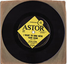 PETULA CLARK - I WANT TO SING WITH YOUR BAND  Very rare 1968 OZ Single Release!