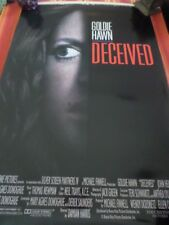 DECEIVED POSTER DOUBLE SIDED Goldie Hawn John Heard NUMBERED Original