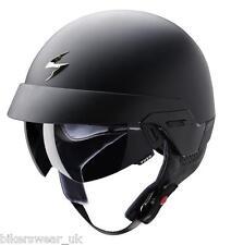 Scorpion EXO 100 - MATT BLACK Open Face Motorcycle Helmet