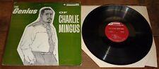 GENIUS OF CHARLIE MINGUS EAST COASTING USA BETHLEHEM JAZZ MONO LP 1957 2ND PRESS