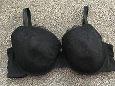 SECRET POSSESSIONS LADIES UNDERWIRED PADDED BRA,BLACK COLOUR,SIZE 38F
