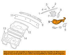 PORSCHE OEM 2002 911 Interior-Rear-Seat Belt Trim Left 99755524500P13