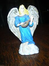 Classic Collectibles Ceramic Angel in Blue Outfit