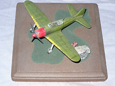 "STARFIX<>BUILT-UP W/DIORAMA BASE<>"" A6M5 ZERO-SEN ""<>1/72 SCALE,NICE, NO DECAL"