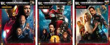 Iron Man 1-2-3 Steelbook Trilogy | 4K UHD/Blu-ray/Digital | NEW