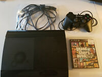PlayStation 3 Console Super Slim 500GB Console Bundle -CECH-4301C