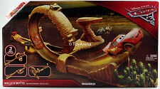 Disney Pixar Cars 3 Willy's Butte Transforming Track Set Lighting McQueen NIB