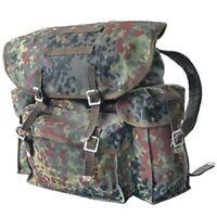 BW Bundeswehr Flecktarn Rucksack Tasche Packtasche Kampftasche Armee Militär NEU