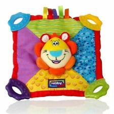Nuby Baby Teethe Teether Soothing BPA Plush Blanket